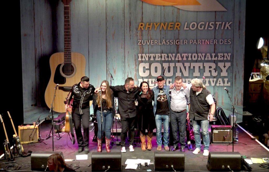 Honky Tonk Pickers_Band verabschiedet sich vom Publikum am Country Music Festival 2020 Albisgütli ZH